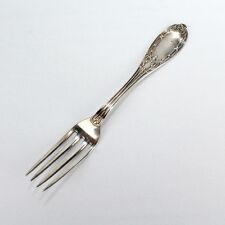 Antique E A Tyler Coin Silver Fork - New Orleans Louisiana SL