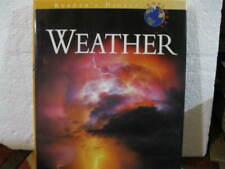 READER'S DIGEST WEATHER - 1996 - HARDCOVER CAROLINE GREEN