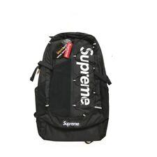 HOT Supreme 17ss Backpack Waterproof Box Logo Mountaineering Bags Travel Bag