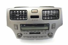 LEXUS ES 330 2004 LHD RADIO STEREO CD PLAYER HEAD UNIT 86120-33512