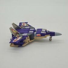 1985 Hasbro G1 Transformers Triple Changer Action Figure: Blitzwing (Incomplete)