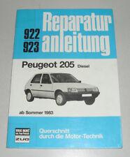 Reparaturanleitung Peugeot 205 Diesel (XUD7) ab Baujahr 1983
