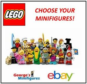 LEGO MINIFIGURES **SERIES 17** CHOOSE YOUR GENUINE RE-SEALED MINIFIGURES! 71018