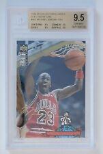 Michael Jordan 1994 Collectors Choice GOLD SIGNATURE FOIL #402 Gem Mint BGS 9.5!