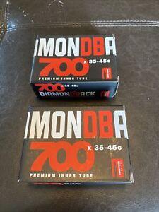 Diamondback 700c X 35-45c, 48mm Threaded Presta Valve Tubes, Set Of Two Tubes