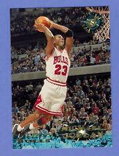MICHAEL JORDAN CHICAGO BULLS 1995 96 STADIUM CLUB #1                4683