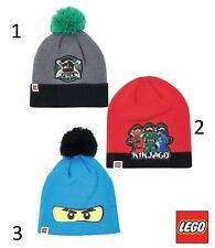 Disney Lego Ninjago Wintermütze Hut Mütze Kopfbedeckung Größe 52 - 54
