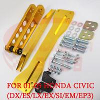 Brazo de control JDM subframe brace Kit Para 01-05 Honda Civic es DX LX em si EP3 SL
