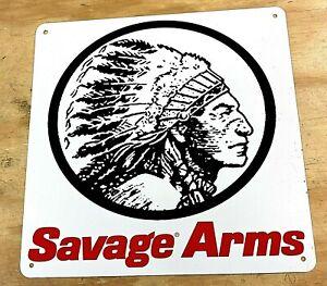 """Savage Arms Logo Aluminum Metal Sign 12""""x12"""""""