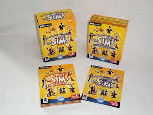 THE COMPLETE COLLECTION Of THE SIMS :- PC CD ROM GAME  BIG BOX BOXSET