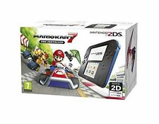 Nintendo 2DS Black & Blue Console with Mario Kart 7
