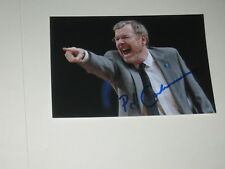 NBA Coach PJ CARLESIMO Signed 4x6 Photo BASKETBALL AUTOGRAPH 1