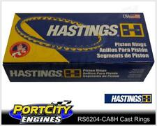 Hastings Cast Piston Ring Set for Holden V8 LS2 6.0L Shallow RS6204