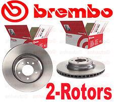 Set of 2 Brembo UV Coated Front Brake Rotors BMW  34116770729 34116855000