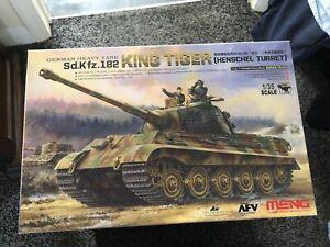 Meng 1/35 King Tiger Sd.Kfz.182 (Henschel Turret) German Tank - UK Seller
