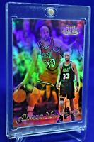ALONZO MOURNING GOLD LABEL RAINBOW REFRACTOR SP HEAT LEGEND