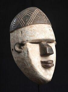 Salampasu Face Mask, D.R. Congo, African Tribal Art