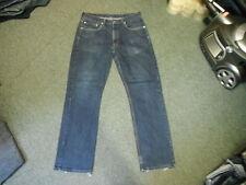 "Levi's 752 Classic Fit Jeans Waist 36"" Leg 32"" Faded Dark Blue Mens Jeans"