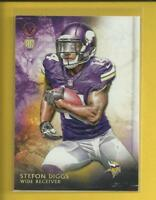 Stefon Diggs RC 2015 Topps Valor Rookie Card # 197 Minnesota Vikings Football