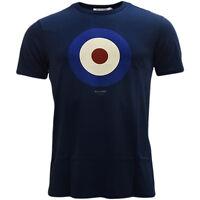Mens T-Shirts Ben Sherman Target T Shirt Mod Retro