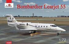 1/72 Bombardier Learjet 55 Longhorn business jet airliner - AModel 72347