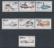 Kampuchéa - 1987, helicópteros (aviación) Set-Cto-SG 846/52