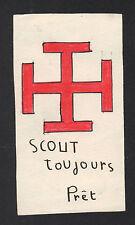 BOURGES (18) SCOUT TOUJOURS PRET / Image de PROMESSE en 1959