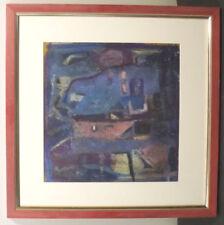 Abstrakte Original künstlerische von 1950-1969 Unikat für-Handgefertigte