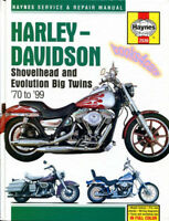 SHOP MANUAL SERVICE REPAIR BOOK HAYNES HARLEY DAVIDSON SHOVELHEAD EVOLUTION