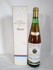 Tocai del Collio Fantinel vendemmia 1983 vino friulano Santa Caterina 75 cl box