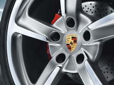 Porsche Carrera Cayenne Panamera Wheel center cap set of 4 Genuine 99104460020