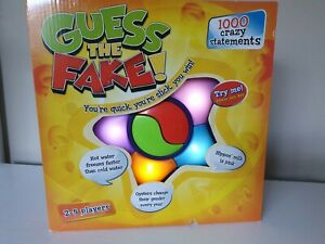 NEW Guess The Fake Electronic Party Family Game