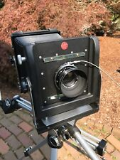 Vintage 1960's Orbit 4x5 View Camera w/Copal #1 Shutter Komura 210mm lens