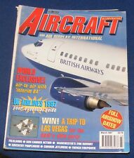 AIRCRAFT ILLUSTRATED MARCH 1997 - UK AIRLINES 1997