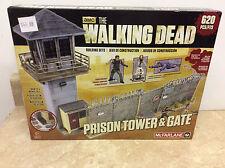 NEW IN BOX AMC The Walking Dead Prison Tower & Gate 620 PCS MCFARLANE