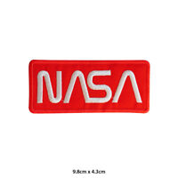 NASA USA Administration Embroidered Patch Iron on Sew On Badge For Clothes etc