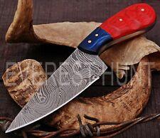 EVEREST HUNT CUSTOM HANDMADE DAMASCUS STEEL HUNTING CAMP SKINNER KNIFE B8-1641