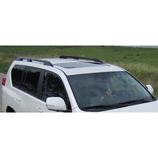 Toyota Land Cruiser Lc1-5 2010+ 5 Door Roof Rails Bars Aluminium Silver Finish