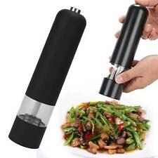 2X Professional Electric Salt and Pepper Mill Grinder Set Shaker Automatic
