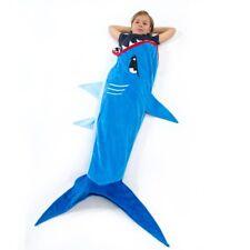 Echolife Shark Tail Blanket Super Soft Minky Shark Sleeping Bag for Kids Age