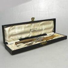 2 x antike Fleischgabeln mit Horngriff Rob Berns Barmen  ca  18 x 1,1 cm