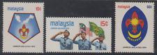 (56)MALAYSIA 1974 MALAYSIA SCOUT JAMBOREE SET 3V FRESH MNH. CAT RM 24