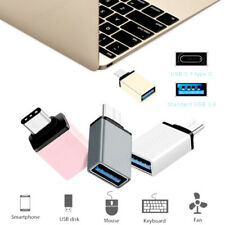 Type C to USB Adapter 3.0 USB-C 3.1 Male OTG A Female Data Connector Converter