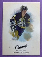 2008-09 Upper Deck Champ's Hockey #8 Bobby Orr Boston Bruins