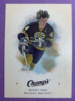 2008-09 Upper Deck Champ's Hockey #8 Bobby Orr Boston Bruins