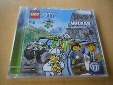 Lego City Hörspiel: CD Folge 17 - VULKAN- Am feuerspeienden Berg-  Neu
