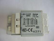 HELVAR L8D 240 V 50 Hz Zavorra INIZIO/valvola dell'aria per 1x 4 W 1x 6 W 1x 8 W 2x 4 W TUBI