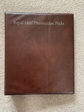 Royal Mail Stamp Presentation Pack Album - official - inc 3 empty pages