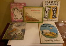 Lions Bed Benjys House Gus Ghost Henry Possum Harry Dog vintage kids book lot 5