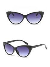 Vtg 50s/60s Style Womens Cat Eye Sunglasses Retro Rockabilly Glasses UK Stock Black Frame Cateye
